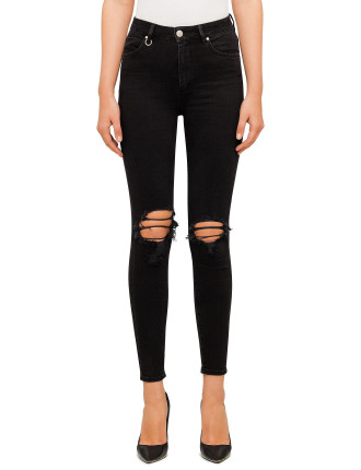 Marilyn Skinny With Knee Slits