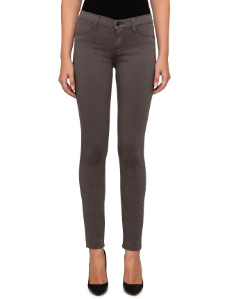 MID RISE SUPER SKINNY - LUXE SATEEN