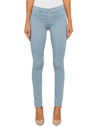 485 Mid Rise Skinny - Luxe Sateen