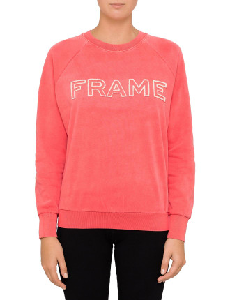 Frame Raglan Sweatshirt