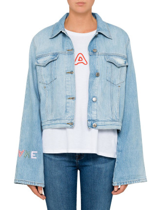 Embroidery Cuff Jacket
