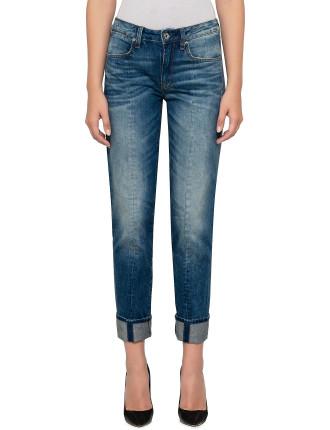 Lanc 3D High Straight Jean