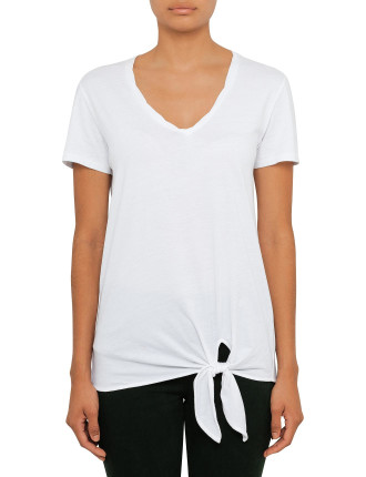 Reed Tee With Knot