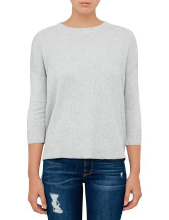 Le Boxy Long Sleeve Sweater