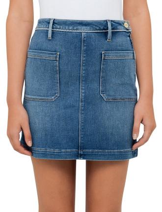 Le Patch Pocket Skirt