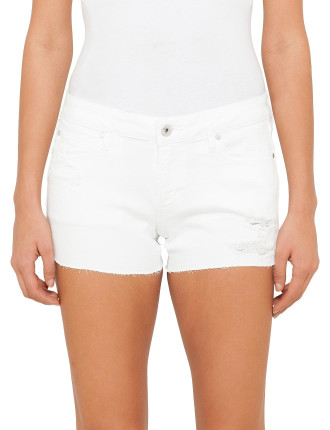 Madre Distressed Classic Short