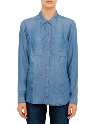 Charlotte Denim Shirt