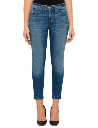 Sadey Mid Rise Slim Straight Fit Jean