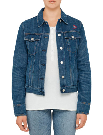 Jean Jacket Embroidered