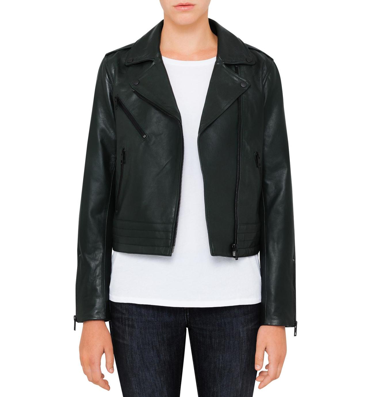 Mens jacket david jones - Mercer Leather Jacket
