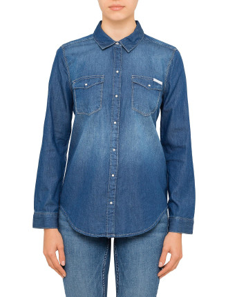 Core Basic Denim Shirt