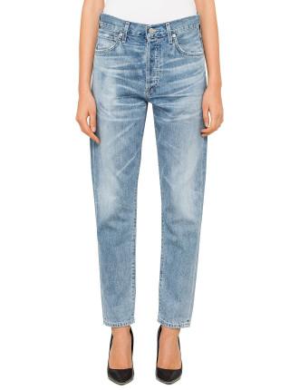 Liya High Rise Straight Jean