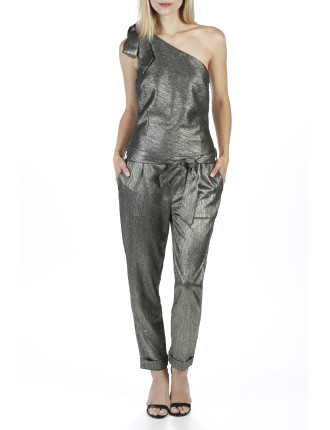 Maisie Metallic Jumpsuit
