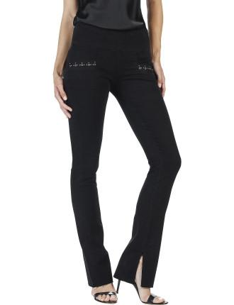 Shiloh Mid Rise Slim Flare Jean