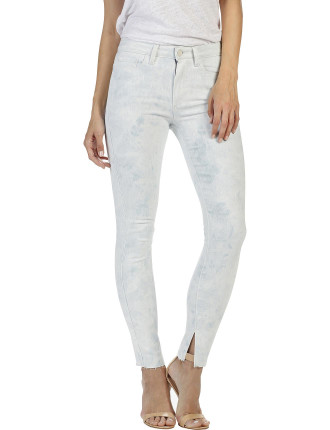 Madeline High Rise Skinny Jean With Raw Hem