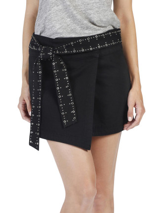 Valentine Vintage Wrap Skirt
