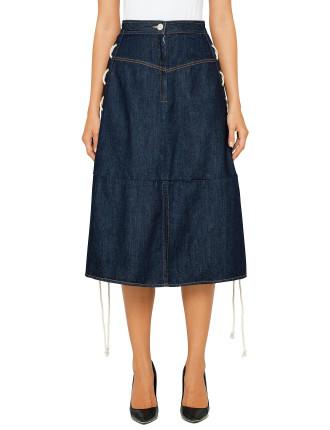 Desert Days Skirt With Rope Detail