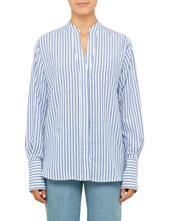 Air Shirt Oversized Button Up Shirt