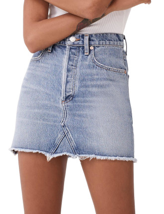Quinn Hi Rise Mini Skirt