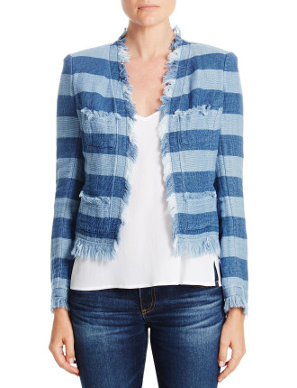 Capucine Stripe Jacket