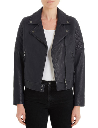 Larissa Moto Leather Jacket