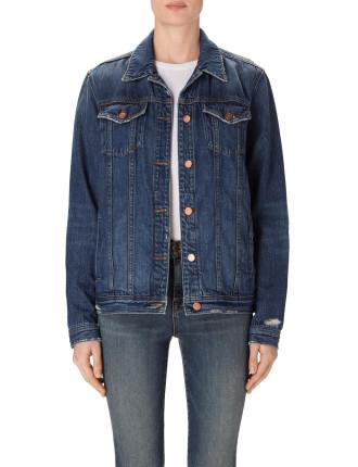 Cyra Oversized Denim Jacket