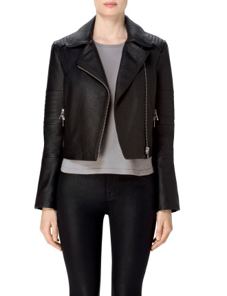 Aiah Leather Jacket