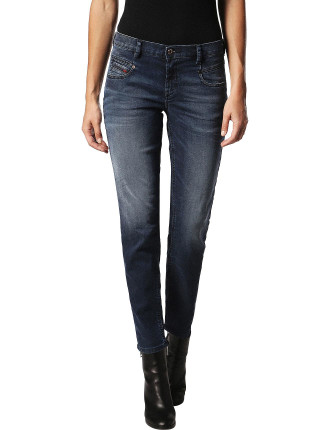 Belthy Mid Rise Slim Ankle Jogg Jean
