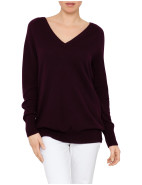 Asher- Oversized V Neck Cashmere $255.00