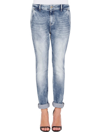 Isla Low Rise Drop Crutch Jean