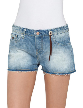 Boyfriend Short -Rebelle Blue