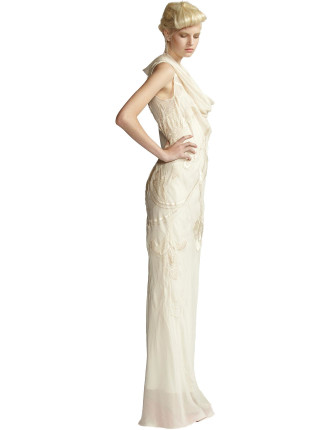 Hand Embroided Gown