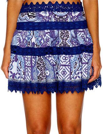 CAMILLA Under Medina Moon Short Frill Hem Skirt