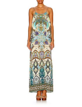 CAMILLA Meet Me In Casablanca Low Back Layered Dress
