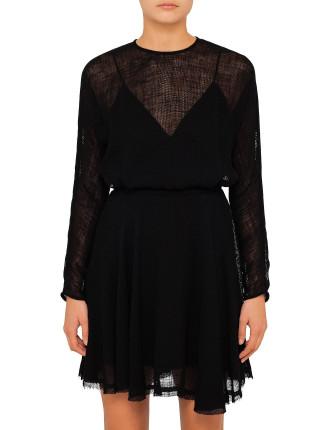 Yumi Long Sleeve Dress