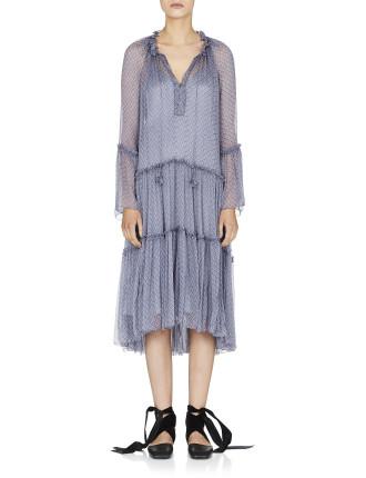De Launay Print Dress