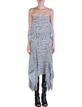 Graphic Suspension Dress