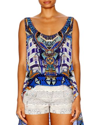 CAMILLA Rhythm & Blues Scoop Back Top