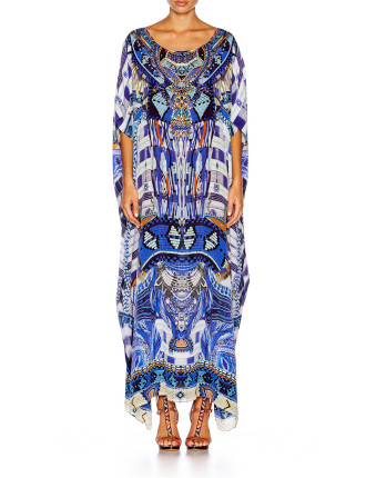 CAMILLA Rhythm & Blues Round Neck Kaftan