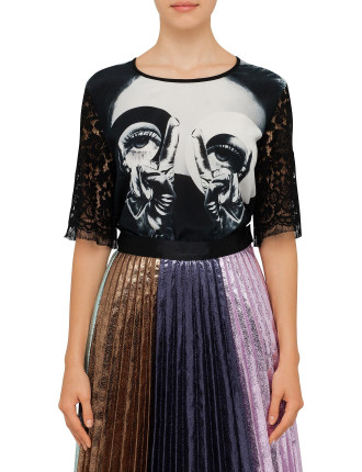 Hedy Lace Discguise Tee