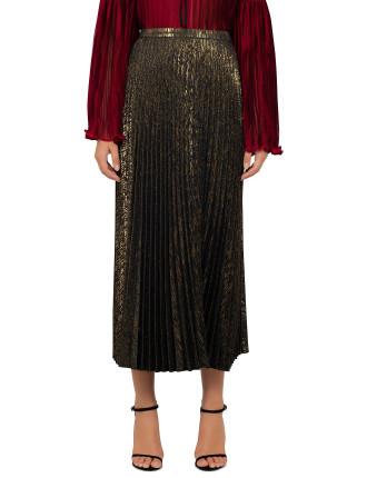 Golden Girls Pleated Skirt
