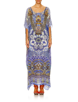 CAMILLA All A Dream Round Neck Kaftan
