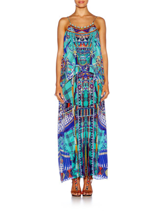 CAMILLA Divinity Dance Low Back Layered Dress