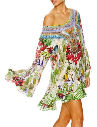 CAMILLA Exotic Hypnotic A-Line Frill Dress