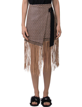 Aspect Leather Skirt