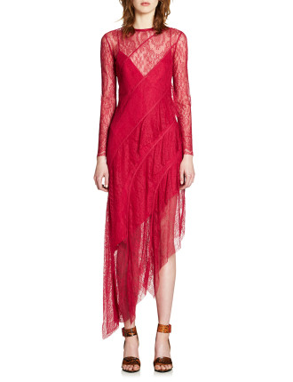 Frill Seekers Long Sleeve Dress