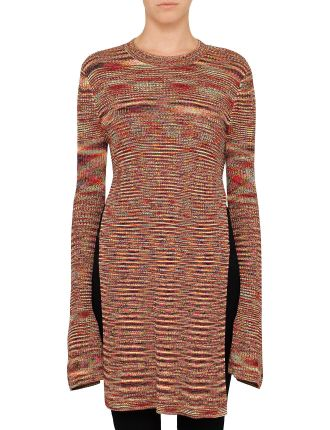 Planet Line Ribbed Knit