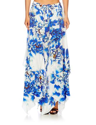 CAMILLA RING OF ROSES Long Handkerchief Skirt