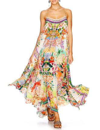 CAMILLA FLOWER HOUR Full Hem Long Dress