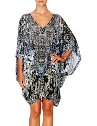 CAMILLA HUSH HUSH Bat Sleeve Dress